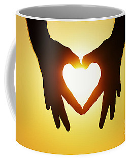 Heart Hands Coffee Mug