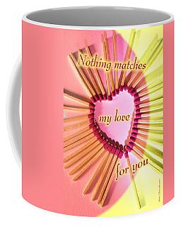 Heart Matches Coffee Mug