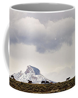 Heart Mountain Horses Coffee Mug