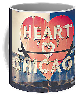 Heart Of Chicago Coffee Mug