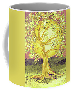Heart Of Gold Tree By Jrr Coffee Mug by First Star Art