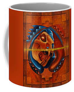 Heart Of The Jaguar Priest Coffee Mug