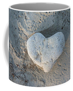 Heart Stone Photography Coffee Mug by Rachel Stribbling