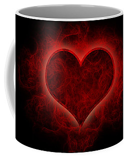 Heart's Afire Coffee Mug