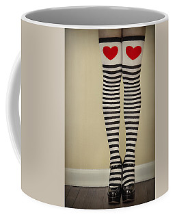 Hearts N Stripes Coffee Mug