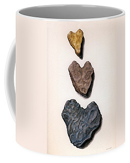 Hearts Rock Coffee Mug
