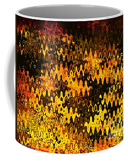 Coffee Mug featuring the photograph Heat by Anita Lewis