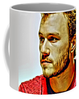 Heath Ledger Portrait Coffee Mug