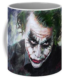 Heath Ledger The Dark Knight Coffee Mug