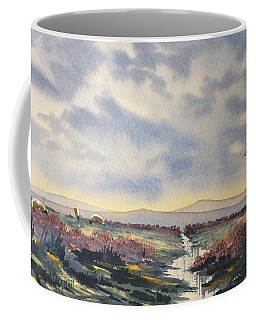Heather On The Road To Fairy Plain  Coffee Mug