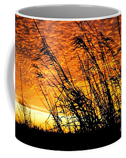 Sunset Heaven And Hell In Beaumont Texas Coffee Mug by Michael Hoard