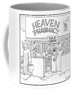 Heaven Pharmacy Features Angels Loading Coffee Mug