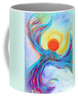 Heaven Sent Digital Art Painting Coffee Mug