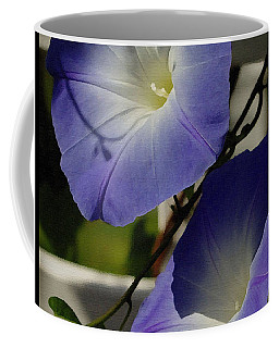 Heavenly Blue Morning Glory Coffee Mug by James C Thomas