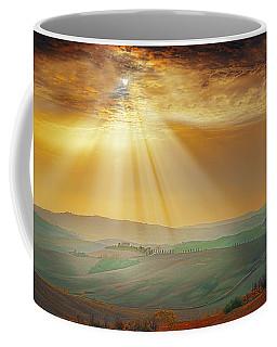 Heavenly Rays Coffee Mug by Midori Chan