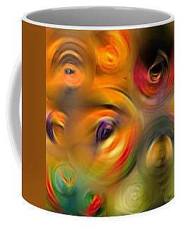 Heaven's Eyes - Abstract Art By Sharon Cummings Coffee Mug