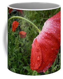 Heavy Head Poppy Coffee Mug