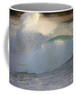 Heavy Surf At Carmel River Beach Coffee Mug