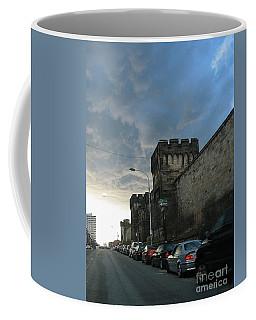 Heavy Weather Over Eastern State Coffee Mug