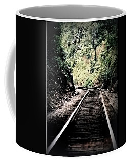 Hegia Burrow Railroad Tracks  Coffee Mug