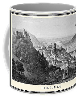 Heidelberg Etching Coffee Mug