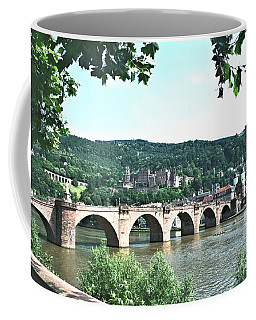 Heidelberg Schloss Overlooking The Neckar Coffee Mug