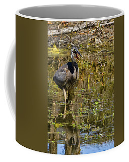 Coffee Mug featuring the photograph Heimlich Please by Gary Holmes