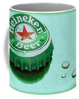 Heineken Cap Green Coffee Mug