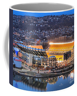 Heinz Field At Night Coffee Mug