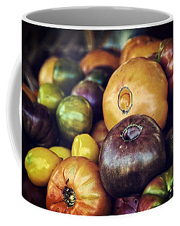 Heirloom Tomatoes At The Farmers Market Coffee Mug
