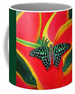 Solomans Kiss Coffee Mug by Debbie Chamberlin