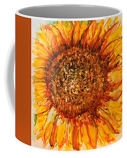 Hello Sunflower Coffee Mug