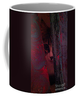 Coffee Mug featuring the photograph Helping In The Art Studio by Jacqueline McReynolds