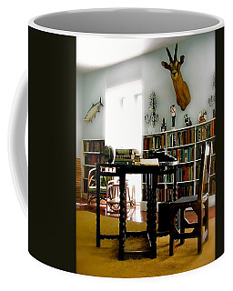 Hemingway's Studio II  Ernest Hemingway Coffee Mug