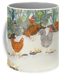 Hens In The Vegetable Patch Coffee Mug