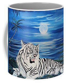 Coffee Mug featuring the painting Her Majesty by Dianna Lewis