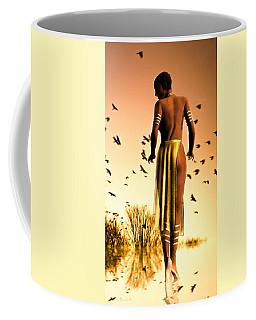 Her Morning Walk Coffee Mug