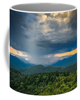 Coffee Mug featuring the photograph Here Comes The Rain by Joye Ardyn Durham