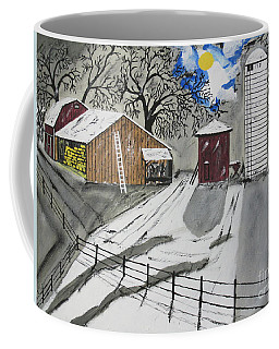 Coffee Mug featuring the painting Here Comes The Sun by Jeffrey Koss