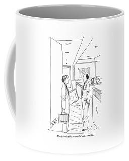 Here It Is - The Plain Coffee Mug
