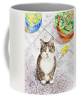 Here Kitty Kitty Kitty Coffee Mug