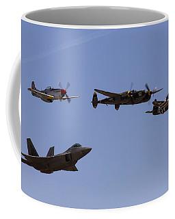 Heritage Flight Of Four Coffee Mug
