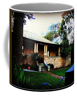 Coffee Mug featuring the photograph Heritage Sandstone House In Sydney Australia by Leanne Seymour