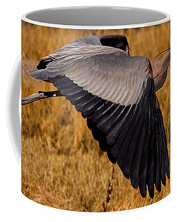 Coffee Mug featuring the photograph Heron  #5811 by J L Woody Wooden