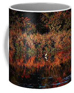 Heron Hideaway Coffee Mug by Elizabeth Winter