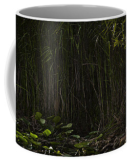 Heron In Grass Coffee Mug by Bradley R Youngberg