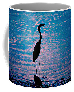Herons Moment Coffee Mug