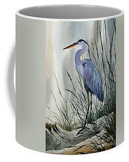Herons Sheltered Retreat Coffee Mug
