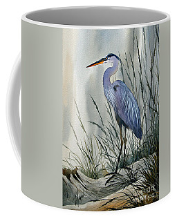 Herons Sheltered Retreat Coffee Mug