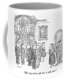 He's My Escort Coffee Mug